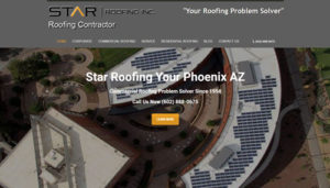 SEO Project Management Star Roofing AZ